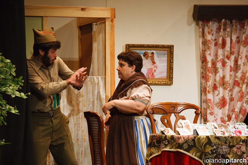 Grup de Teatre L'Enfilat. La Tia Pepa Tona. Festes de la Magdalena 2016 de Castelló.